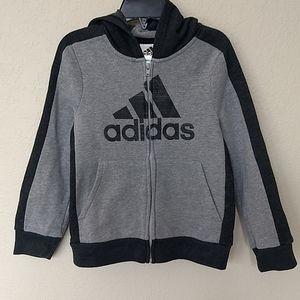 Adidas Boys Hoodie Sweatshirt